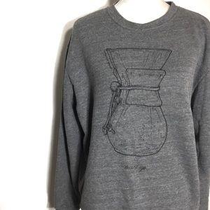 American Apparel • turnt up espresso sweatshirt